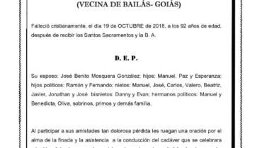 DÑA. ELISA VILARIÑO GONZÁLEZ