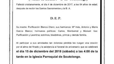 D. MANUEL GARCÍA BLANCO
