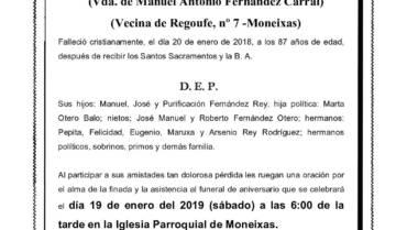 DÑA. Mª ELENA REY RODRÍGUEZ