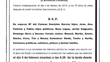 D. JUAN MANUEL CERDEIRA CASTRO