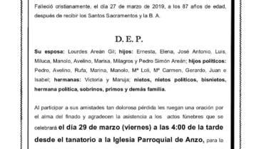 D. JOSÉ Mª SIMÓN FERNÁNDEZ