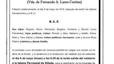 DÑA. Mª ESTRELLA FERNÁNDEZ PITEIRO