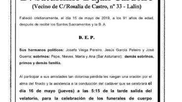 D. SATURNINO BUJÁN CARDEIRO