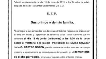 D. FRANCISCO LÓPEZ FRAGA