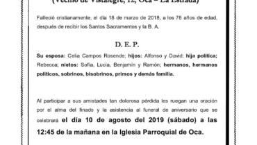 D. ALFONSO RIOS CORRAL