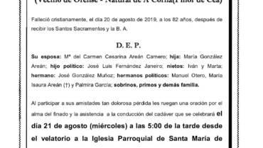 D. MANUEL GONZÁLEZ MUÑOZ