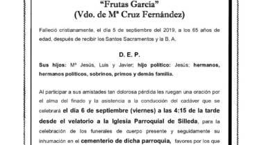 D. JESÚS GARCÍA ROZAS