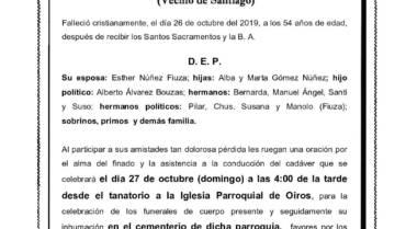 D. RAMÓN GÓMEZ ARCOS