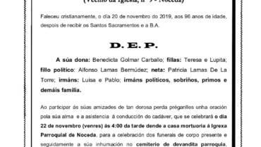 D. DARIO DE LA TORRE CRESPO