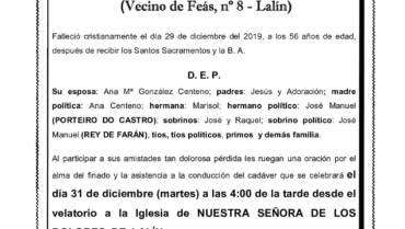 D. MANUEL FARIÑA LOIS