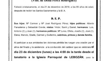 D. MANUEL RODRIGUEZ LORENZO