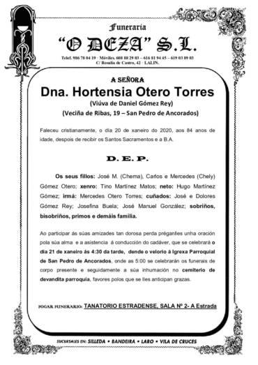 DNA. HORTENSIA OTERO TORRES