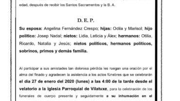 D. MANUEL BALDONEDO SÁNCHEZ
