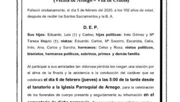 DÑA. ARGIMIRA CASTRO GARCÍA