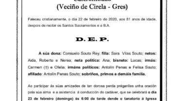 D. RAMÓN VILAS CALVO
