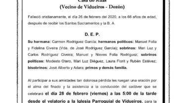 D. EMILIO RODRÍGUEZ GARCÍA