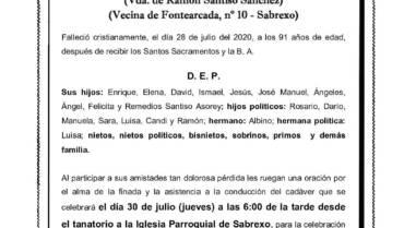 DÑA. CLARISA ASOREY CHORÉN