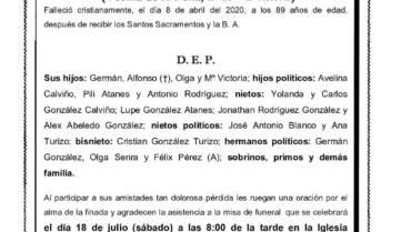 DÑA. Mª ALICIA GARCÍA RODRÍGUEZ