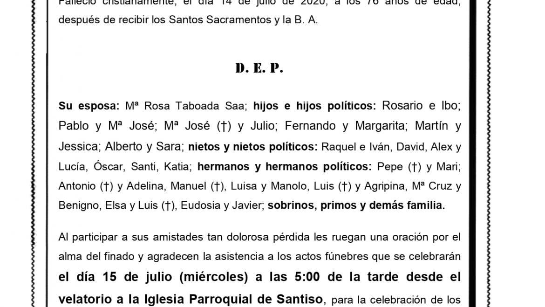 D. VICTORINO RODRÍGUEZ CASTRO