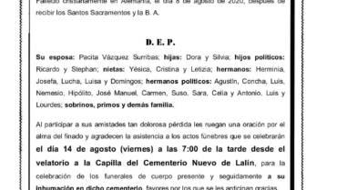 D. MARCIAL GALLEGO RODRÍGUEZ