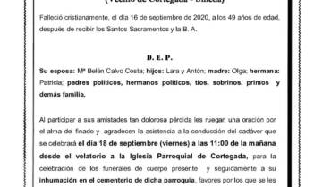 D. CARLOS FONDEVILA LÓPEZ