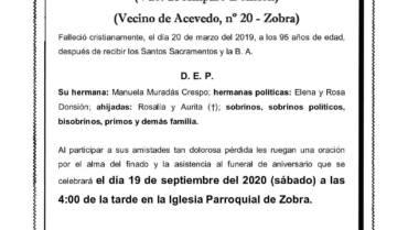 D. DELFÍN MURADÁS CRESPO