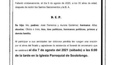 ADRIÁN FERREIROA GUTIÉRREZ