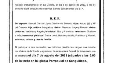 Dña. Celina González García