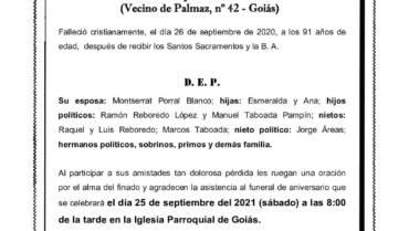 D. MANUEL GARCIA BARCALA